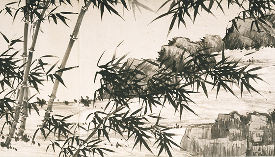 MDNY_Xia_Chang,_Chinese_-_Bamboo_under_Spring_Rain_-_Google_Art_Project